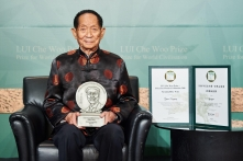 LUI Che Woo Prize Sustainability Prize Laureate Professor Yuan Longping